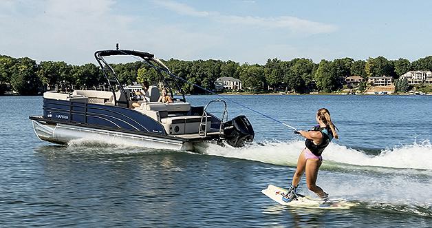 Sunliner 230 Sport Wakeboarding