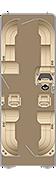 Sunliner CWDH 250 Floorplan