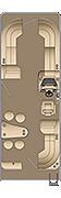 Sunliner CWEB 250 Floorplan