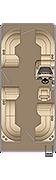 Sunliner CW 210 Floorplan