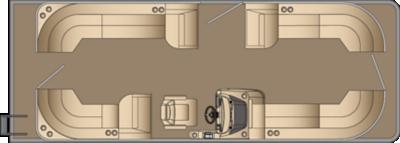 Sunliner CW 250 Floorplan