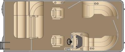 Sunliner SLDH 210 Floorplan