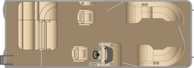 Sunliner SLDH 250 Floorplan