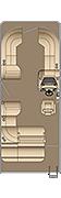 Sunliner SL 230 Floorplan