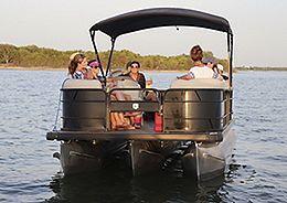 Sunset cruise group