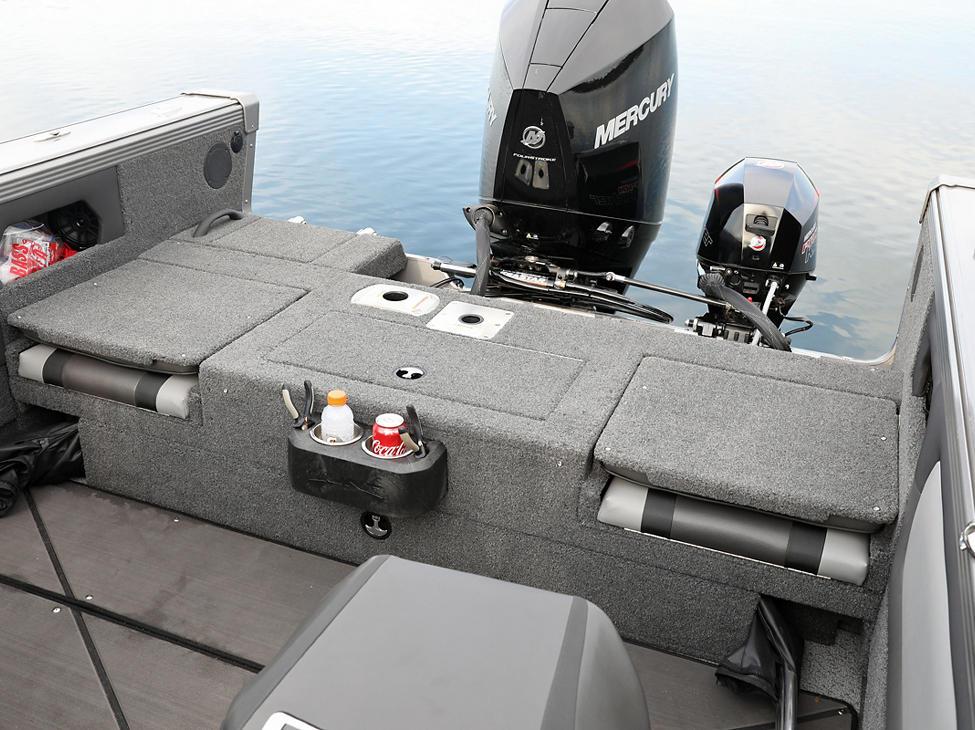 Tyee Aft Platform with Jump Seats Closed