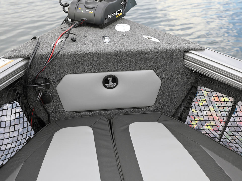 Tyee Bow Storage Compartment Closed