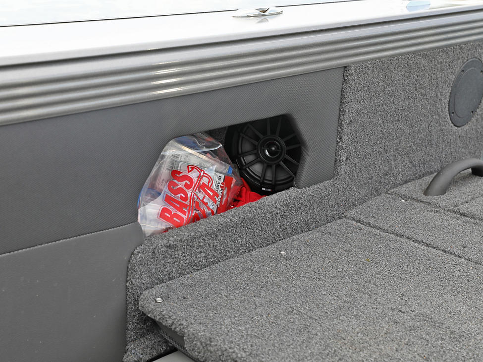 Tyee Starboard Stereo Speaker and Aft Storage Cubby