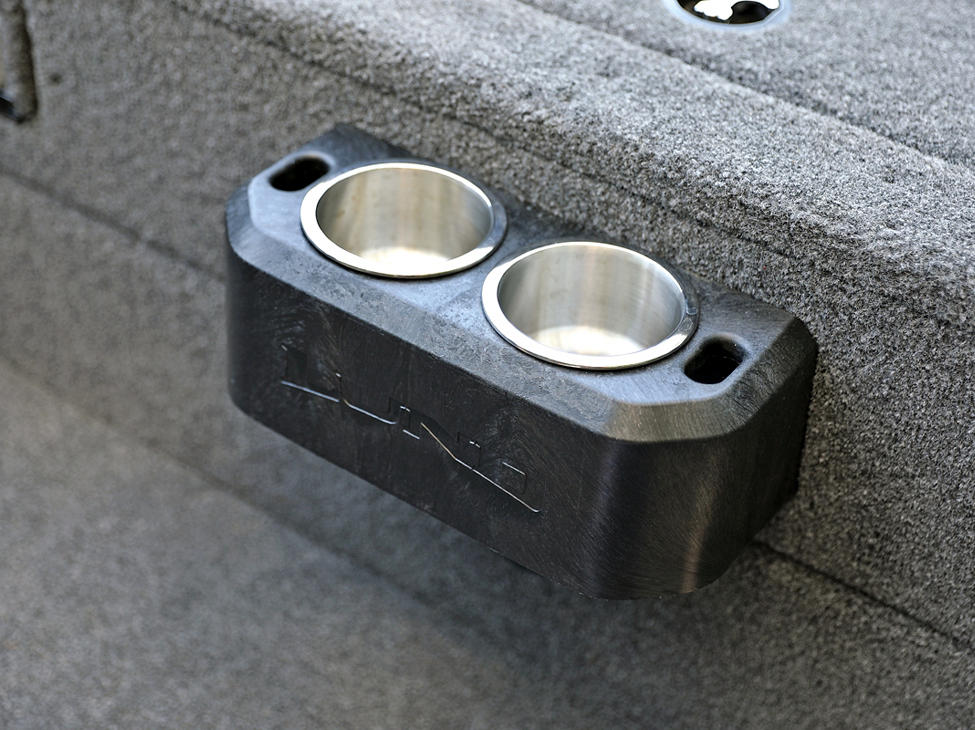 Tyee Aft Platform Stainless Steel Cup and Tool Holder