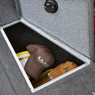 Tyee Bow Deck Starboard Storage Compartment