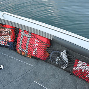 Tyee Bow Deck Starboard Storage Net