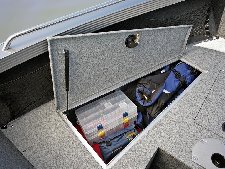 Tyee Magnum Bow Deck Port Storage Compartment