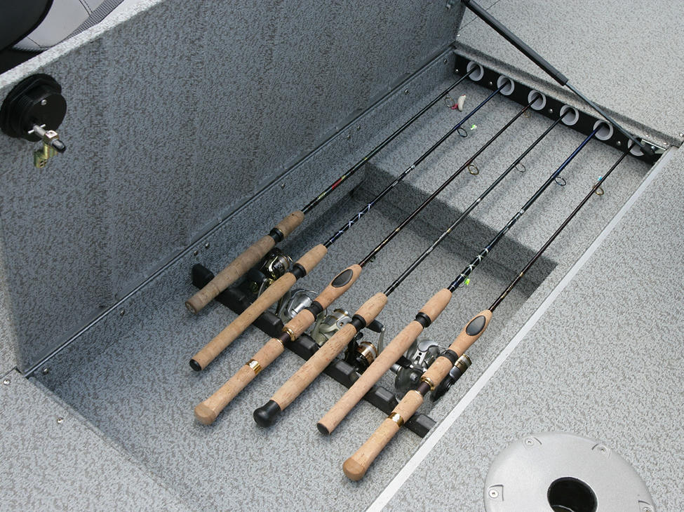 Tyee Magnum In-Floor Rod Locker Storage Compartment
