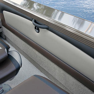 Tyee Port Side Storage Compartment Beige Interior - Closed