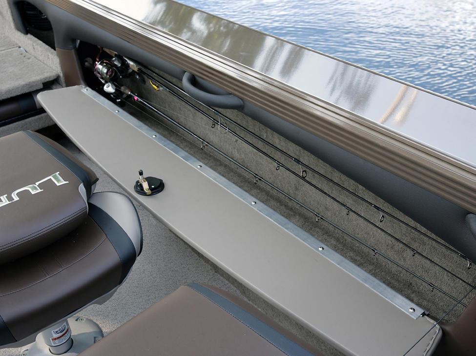 Tyee Port Side Storage Compartment Beige Interior - Open