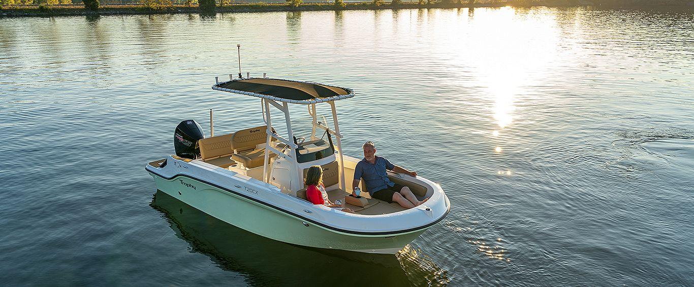 Trophy Fishing Boat Pic