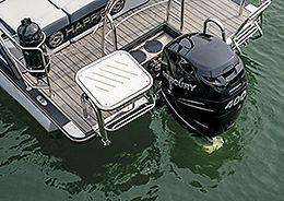 Grand Mariner Swim Seat and Fender Holders