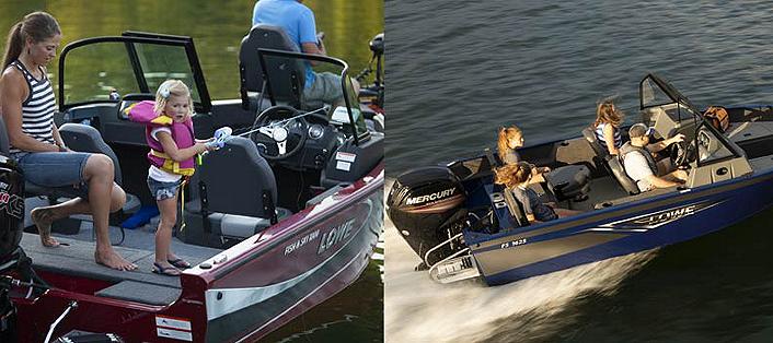 fish and ski rear aft conversion deck