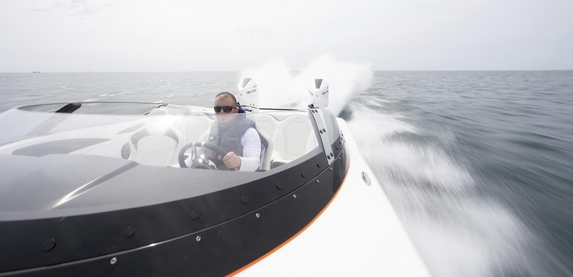 Man Boat Mercury 450r