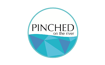 pinched on the river
