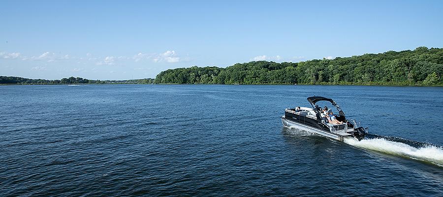 Medium Lake or River