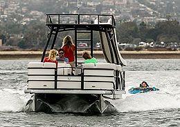 slide pontoon