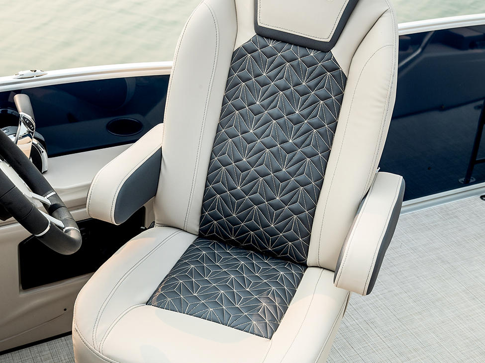 Grand Mariner Helm Chair in French Gray