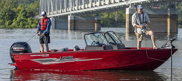 walleye boat fm1900 front bow trolling motor