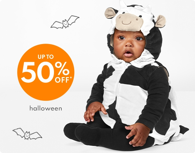 UP TO 50% OFF*   halloween