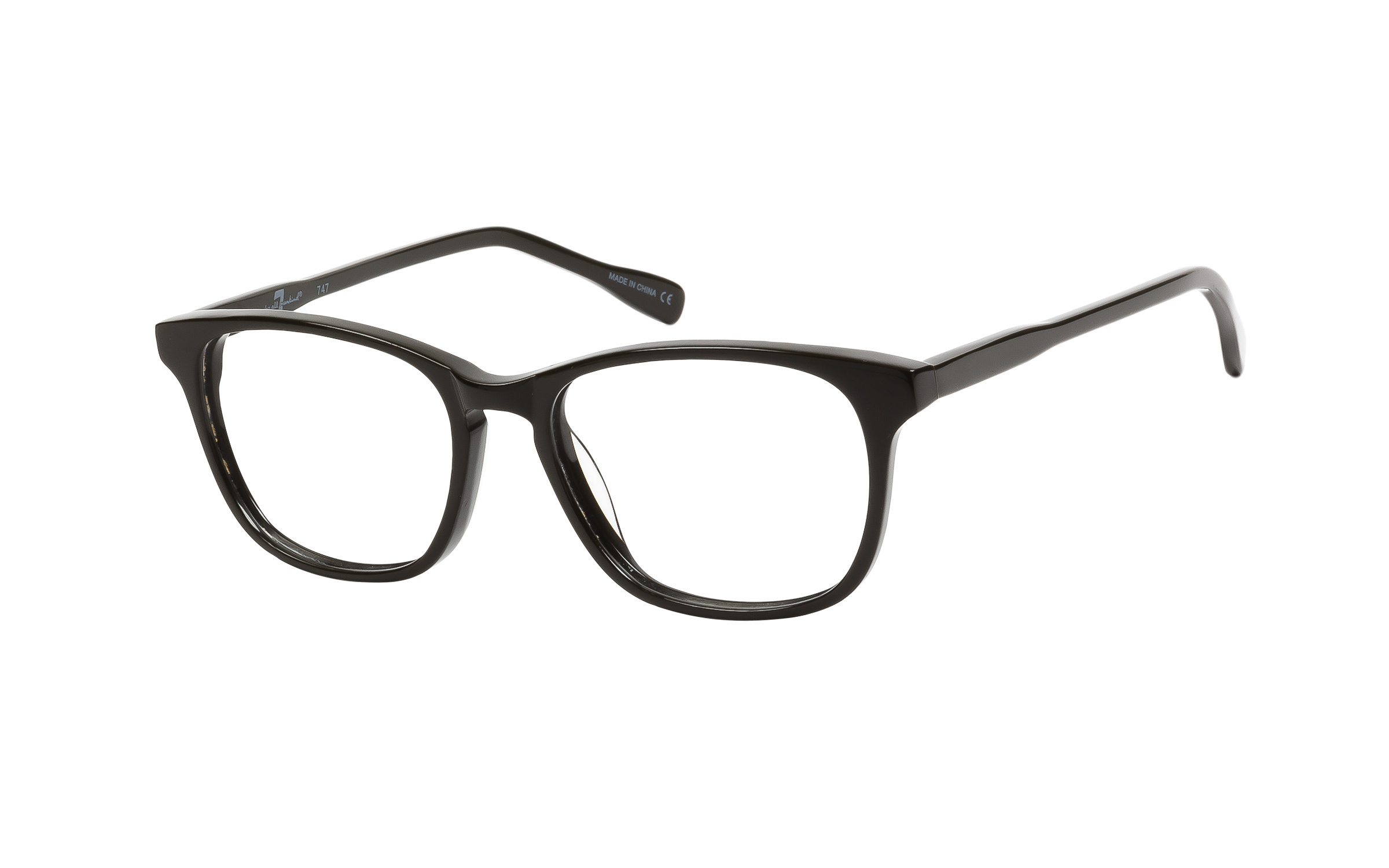 7 for All Mankind Glasses D-Frame Green Online Clearly