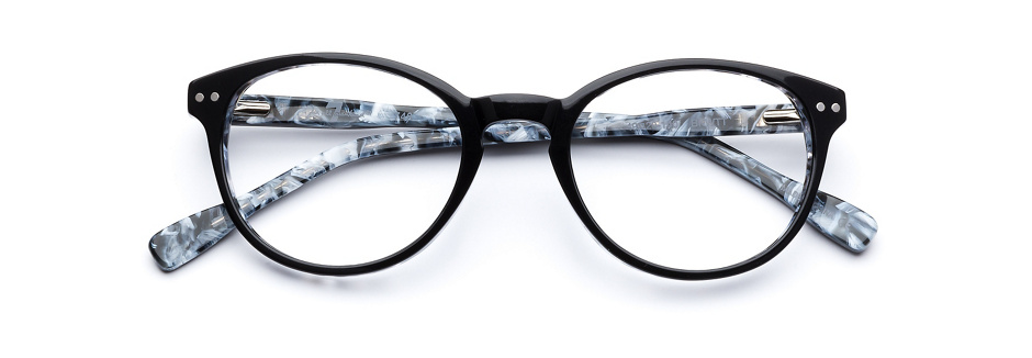product image of 7 For All Mankind 748-49 Black White Tortoise