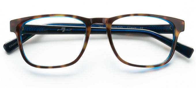product image of 7 For All Mankind 762 Tortoise Navy
