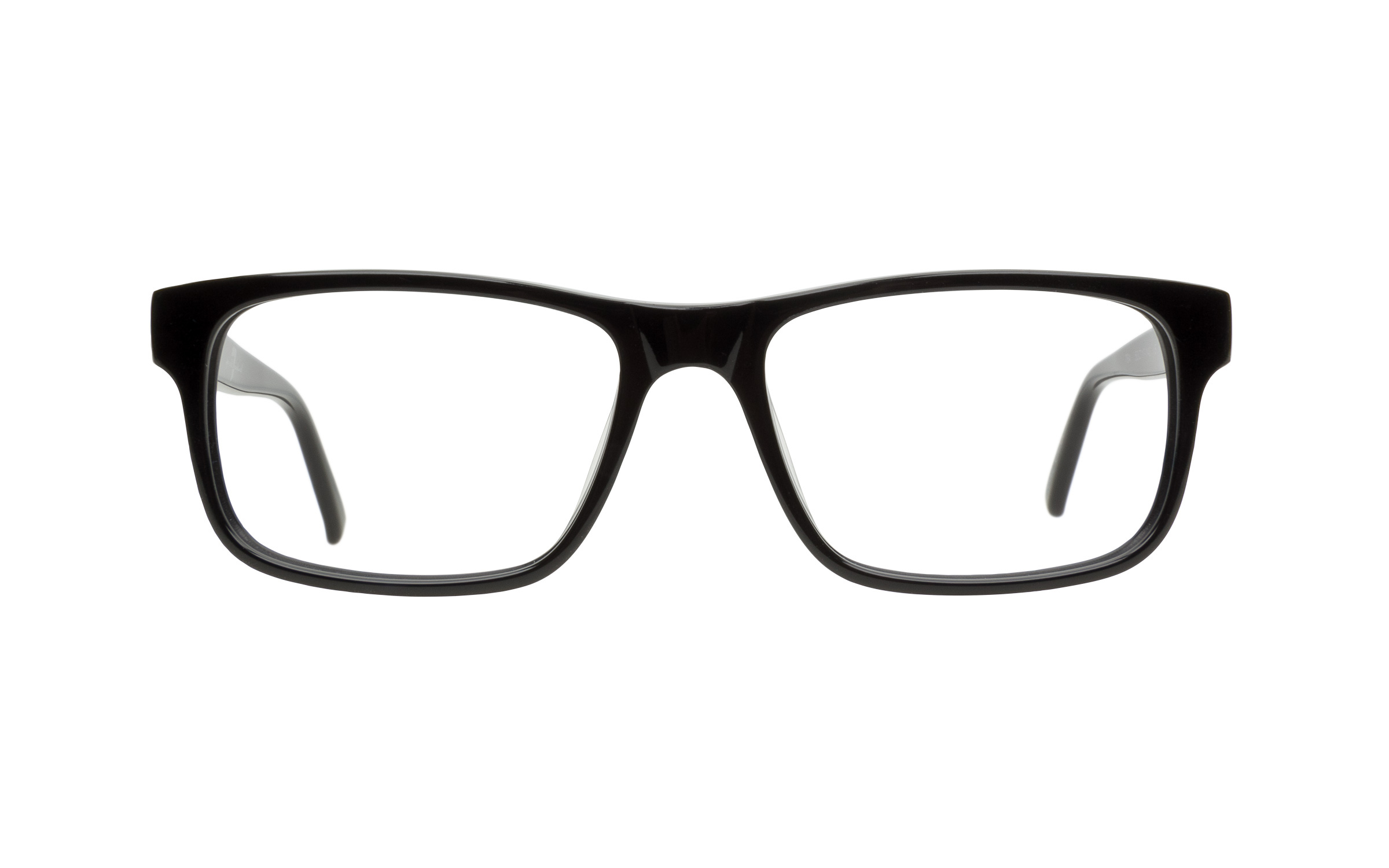 7 For All Mankind 764 Eyeglasses and Frame in Black | Acetate - Online