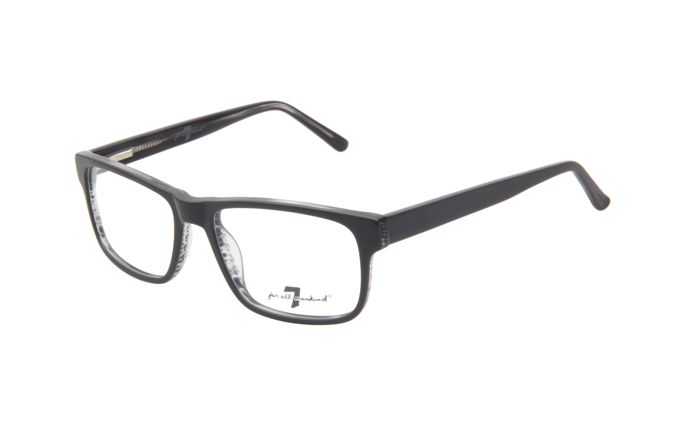 7 for All Mankind Men's Glasses Grey Acetate Online Clearly