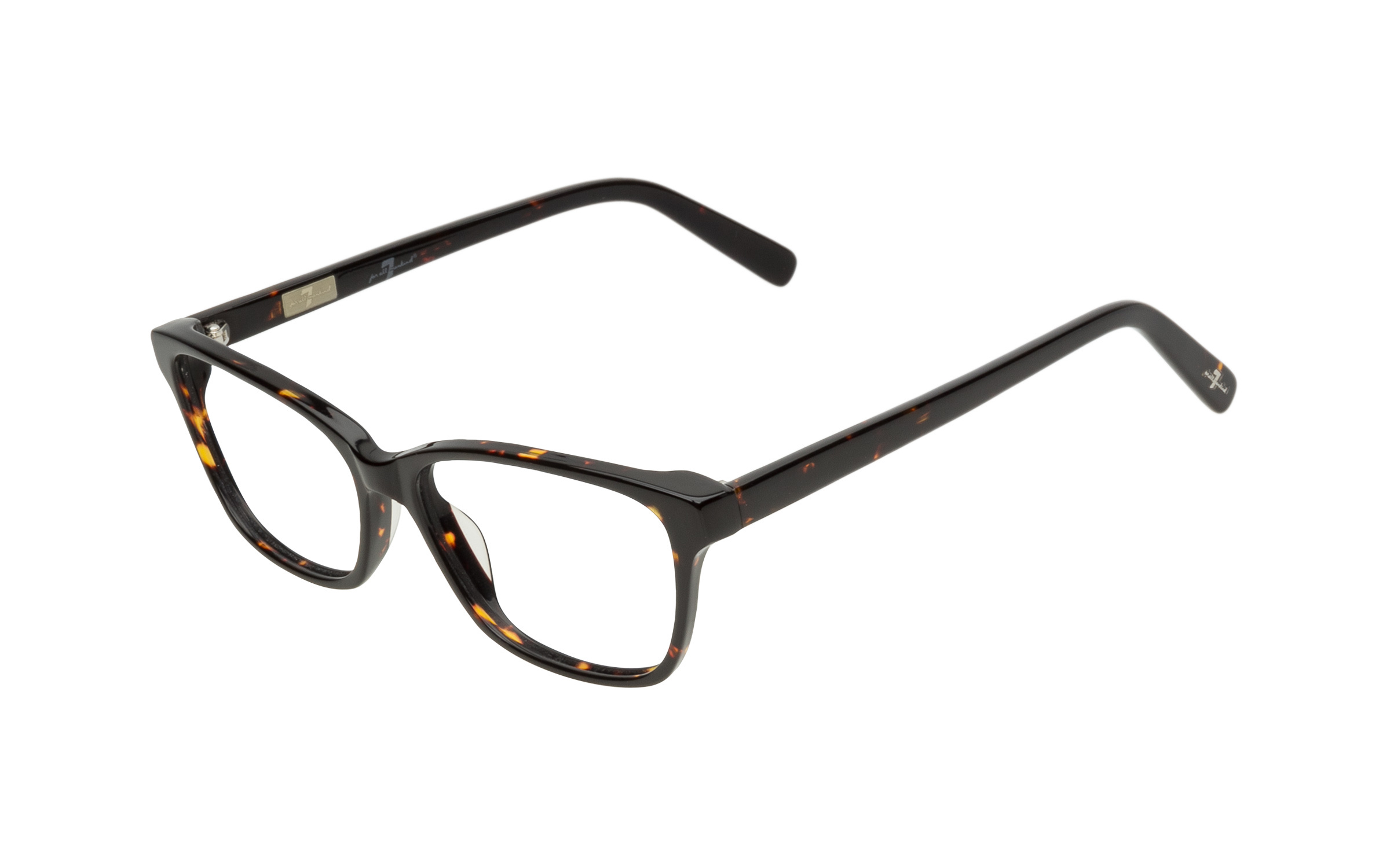7 for All Mankind Glasses Elegant Tortoise Online Clearly