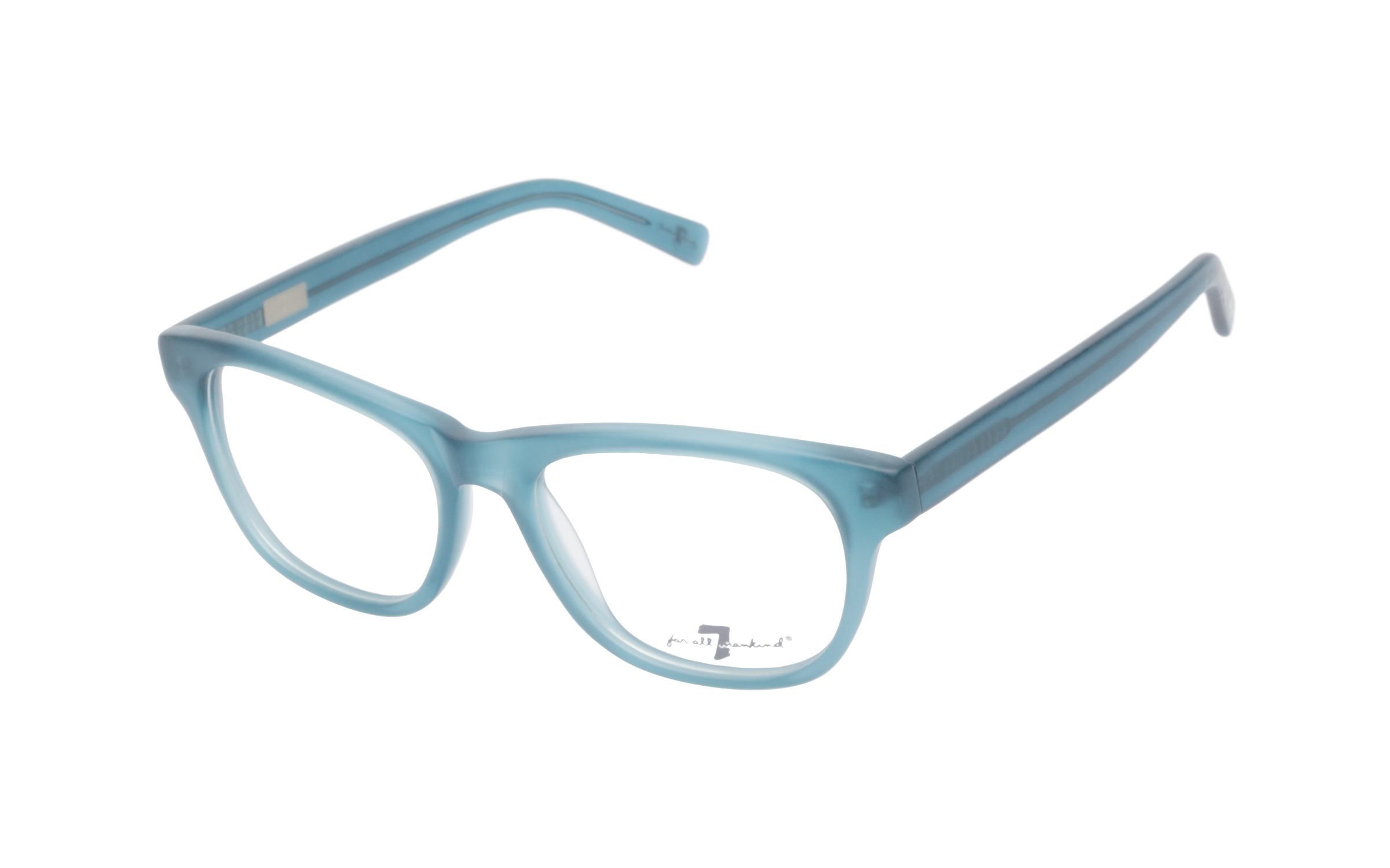 7 for All Mankind Women's Glasses Cat-Eye Blue Acetate Online Clearly
