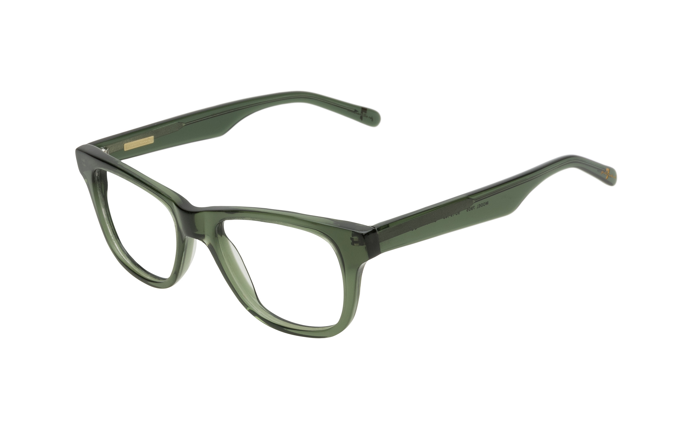 7 for All Mankind Glasses Vintage Green Acetate Online Clearly