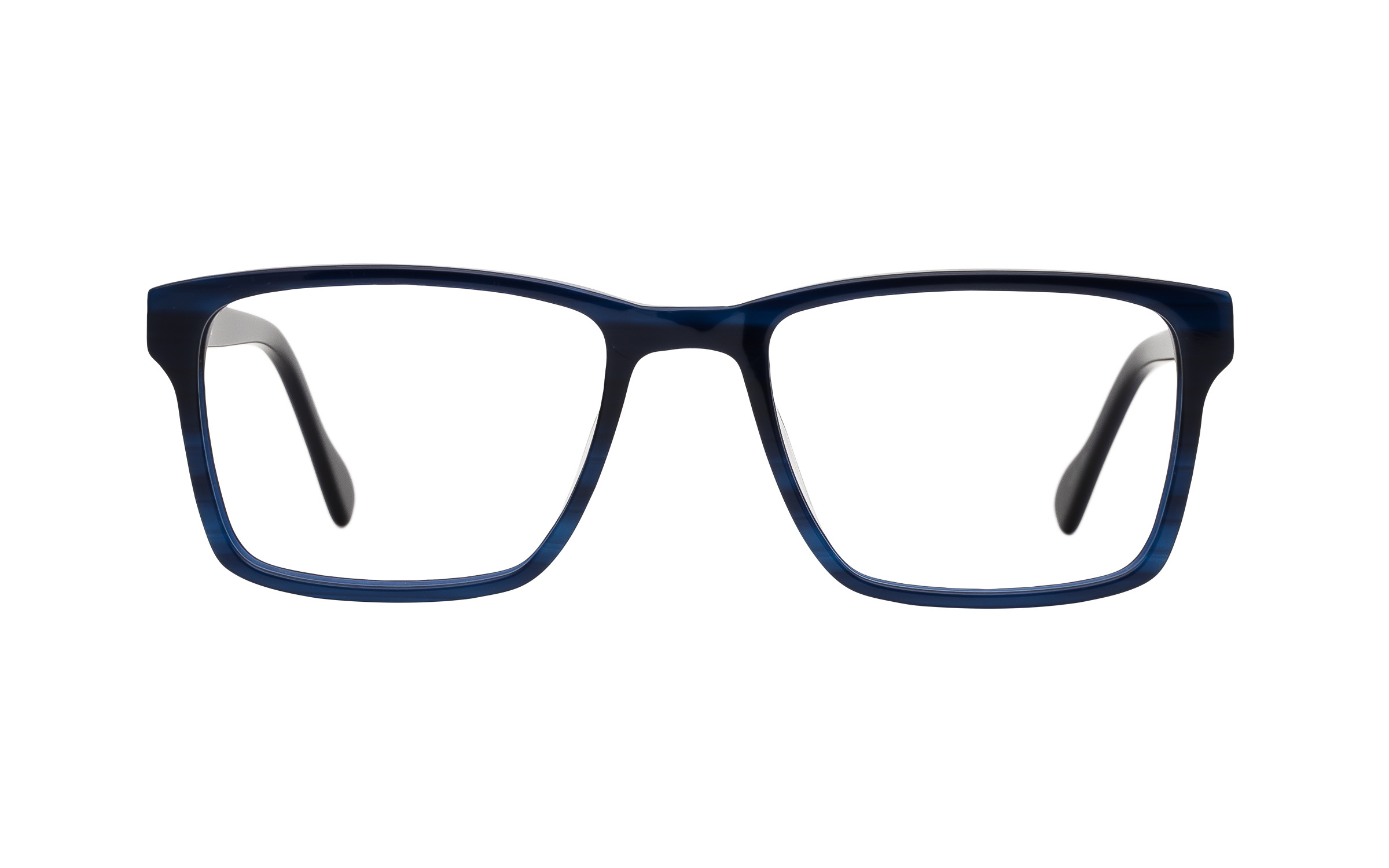 7 for All Mankind Glasses Rectangular Blue Online Clearly