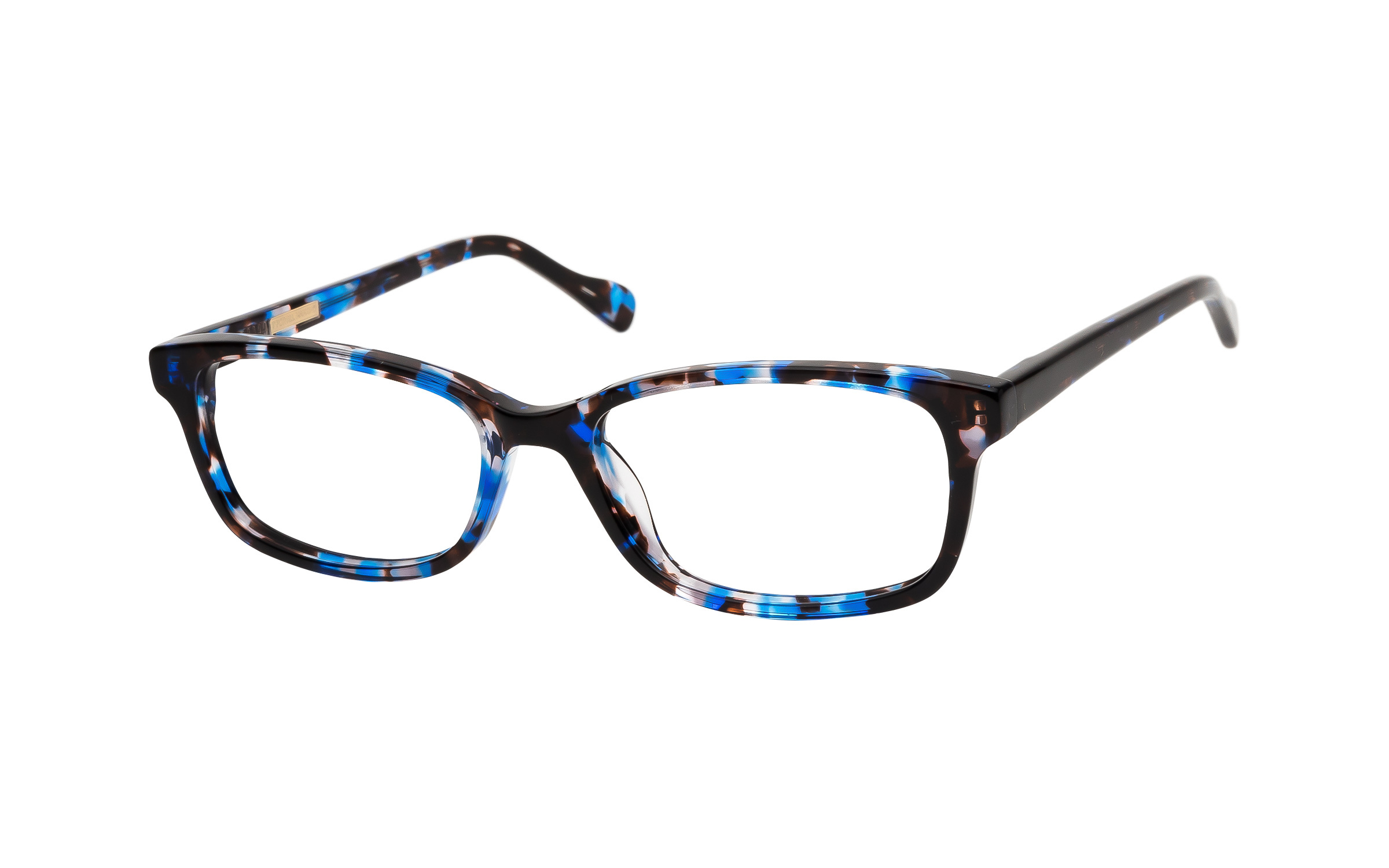 7 for All Mankind Glasses Rectangular Blue/Tortoise Acetate Online Clearly
