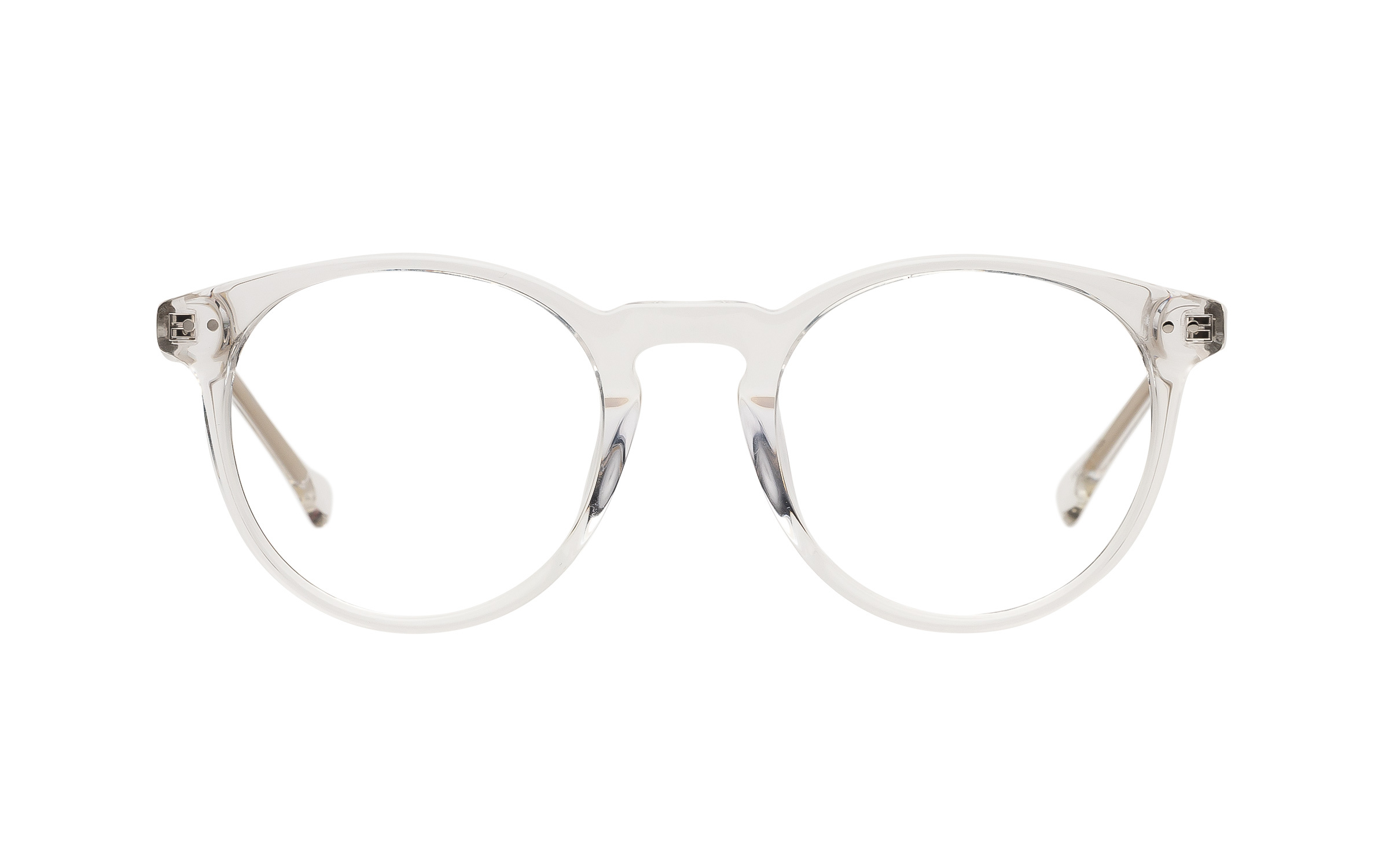 7 for All Mankind Glasses Vintage Clear Metal Online Clearly