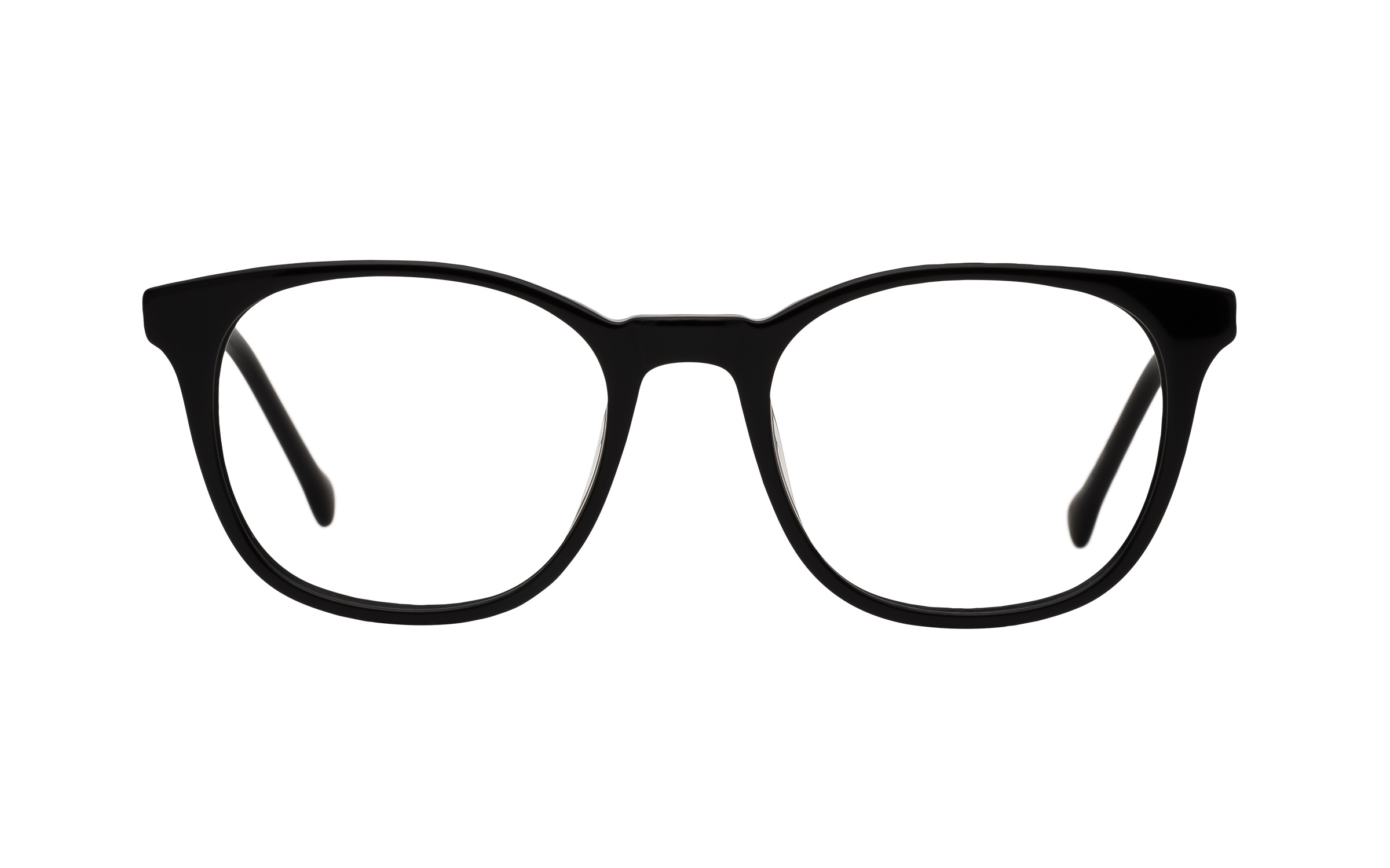 7 for All Mankind Glasses D-Frame Black Acetate Online Clearly