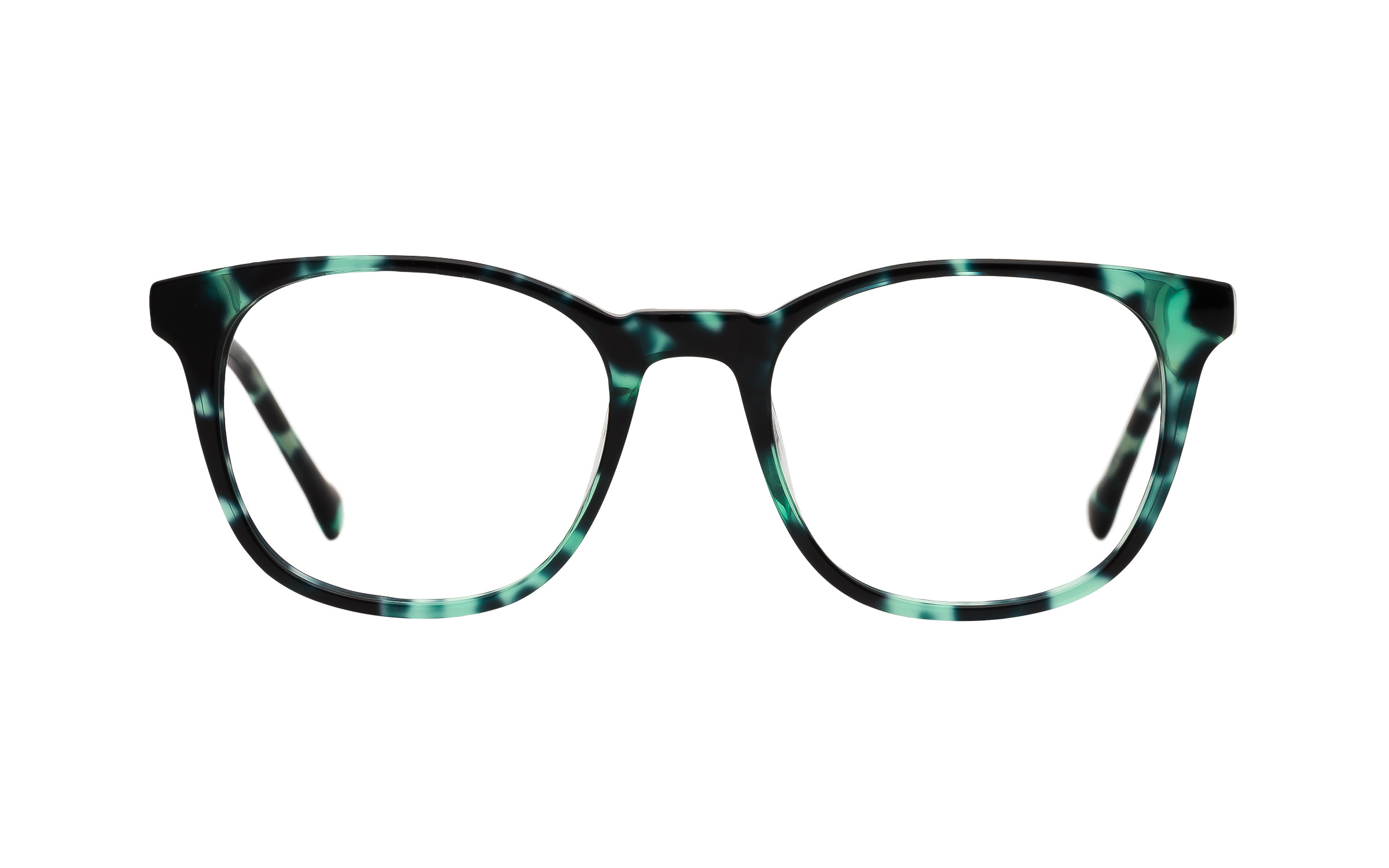 7 for All Mankind Glasses D-Frame Green/Tortoise Acetate Online Clearly
