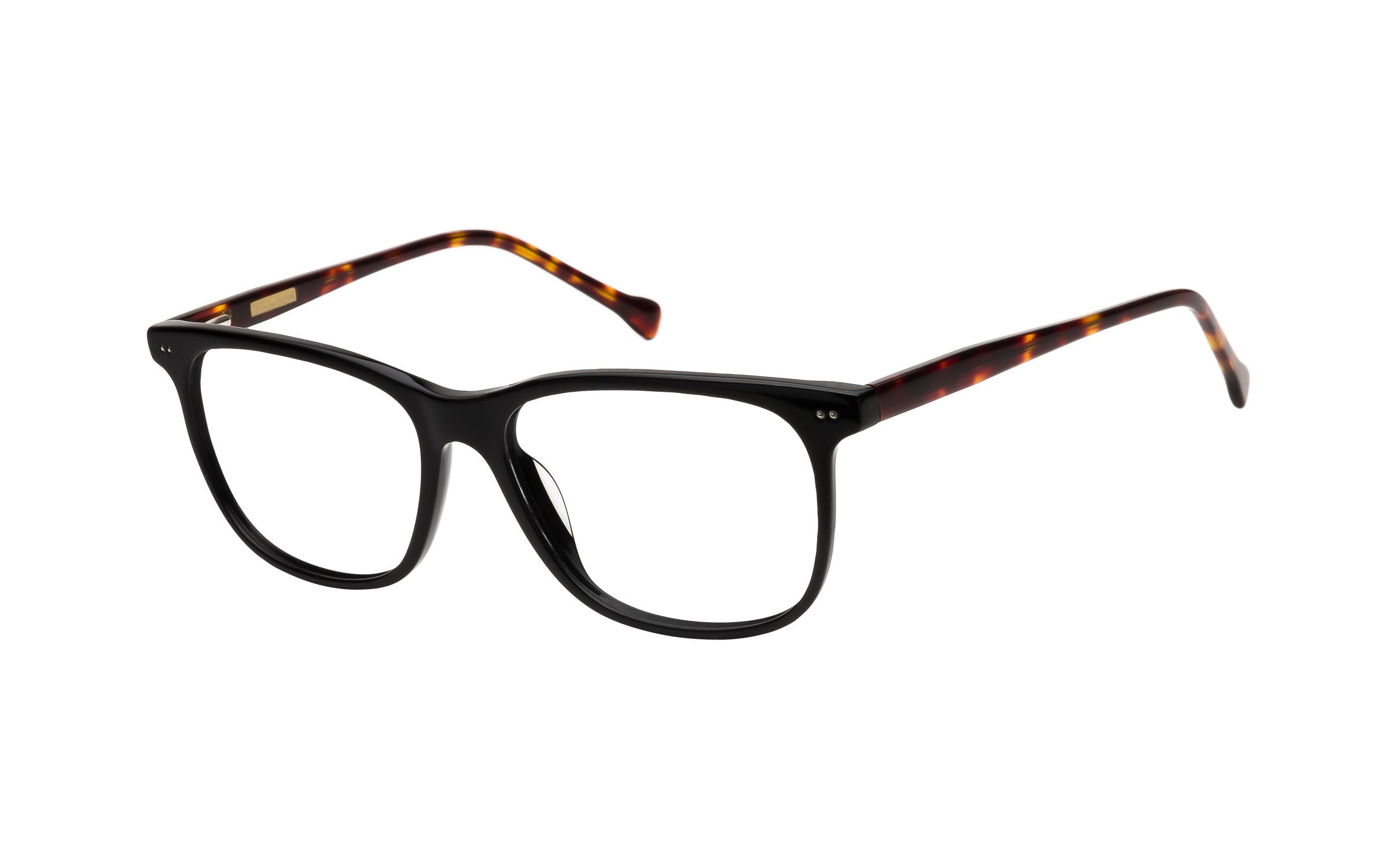 7 For All Mankind 811 Eyeglasses and Frame in Black/Tortoise - Online