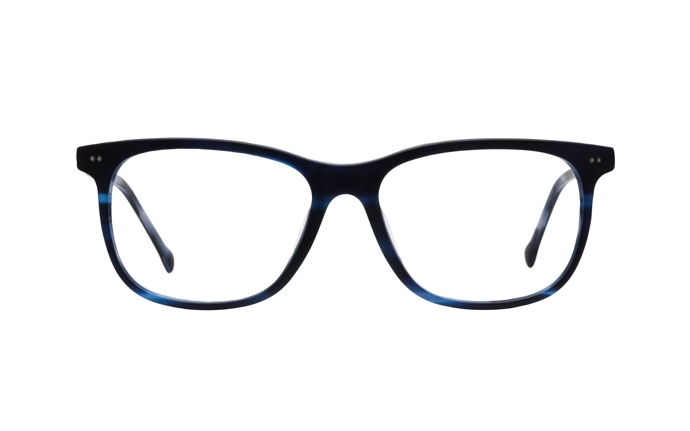 7 for All Mankind Glasses D-Frame Blue Online Clearly