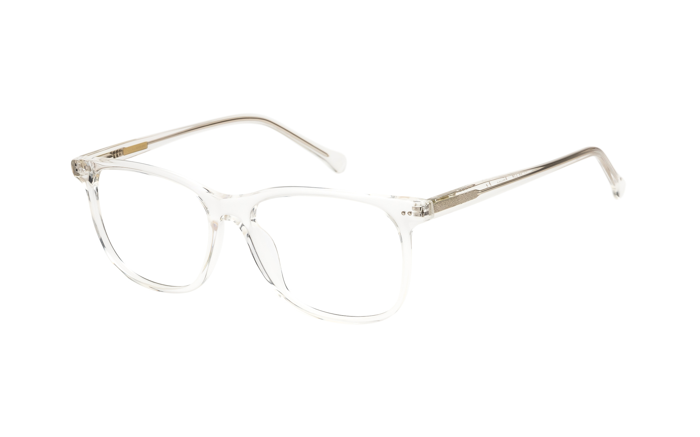 7 for All Mankind Glasses D-Frame Clear Online Clearly