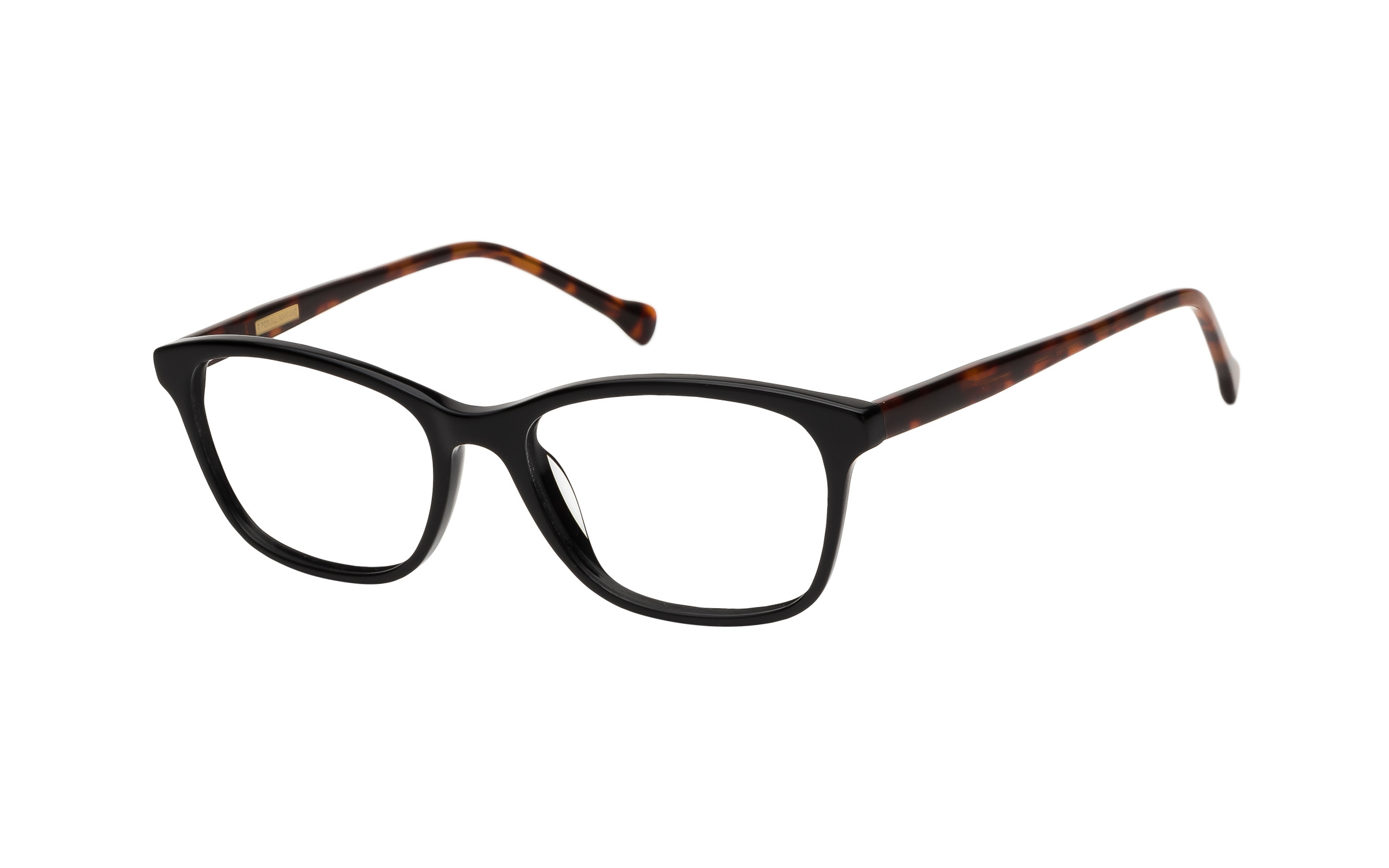 7 for All Mankind Glasses D-Frame Black/Tortoise Acetate Online Clearly