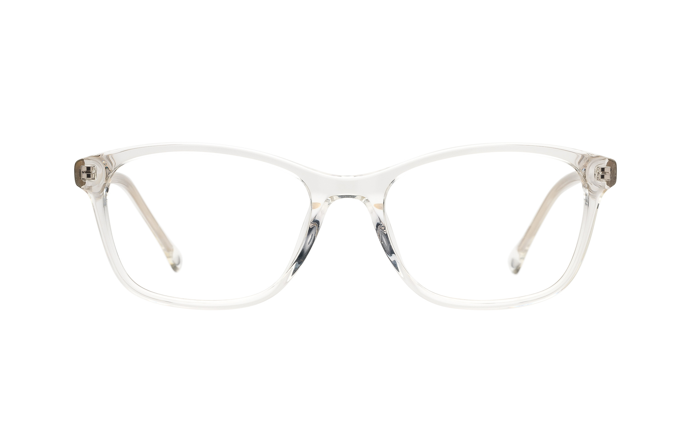 7 for All Mankind Glasses D-Frame Clear Acetate Online Clearly