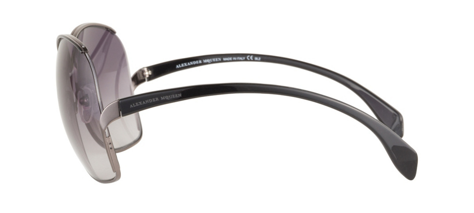 product image of Alexander McQueen AMQ4172S-62 Ruthenium Black