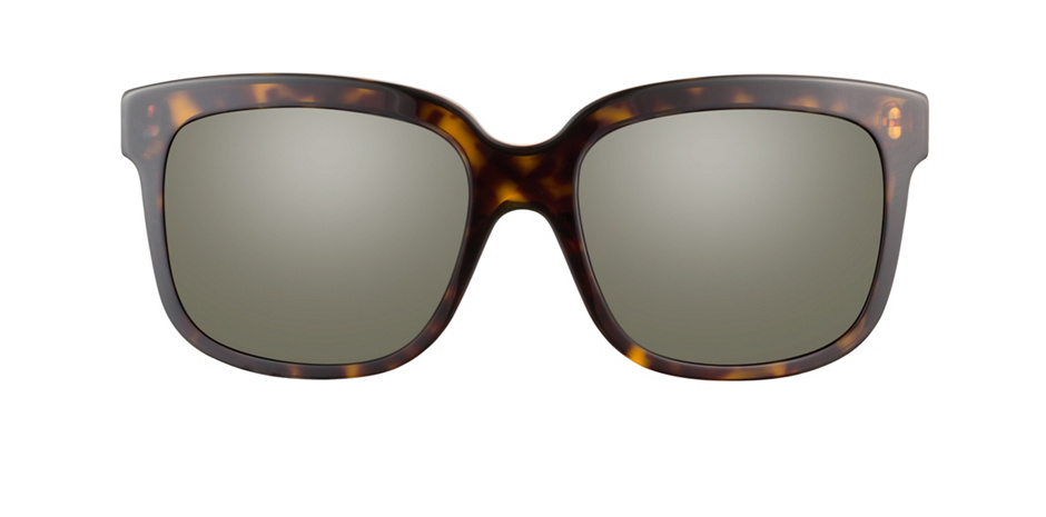 product image of Alexander McQueen AMQ4213S-55 Black Olive Amber