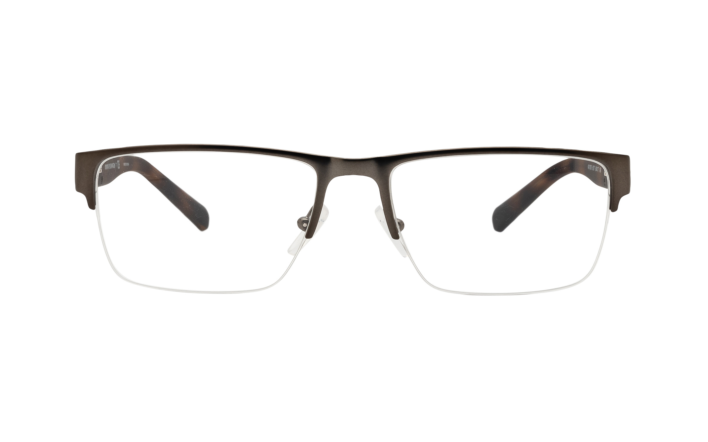 http://www.coastal.com/ - Armani Exchange AX1018 6017 (54) Eyeglasses and Frame in Matte Gunmetal Grey – Online Coastal